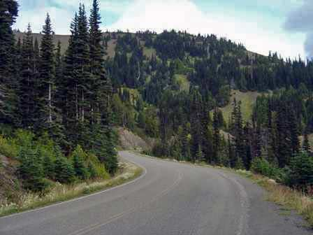 Hurricane Ridge Road,  Olympic National Park