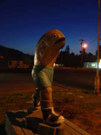 "Running Fish, ""Gill"", Clallam Bay Washington"