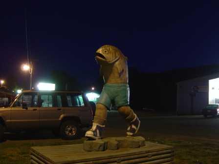 """Running Fish, """"Gill"""", Clallam Bay Washington"""