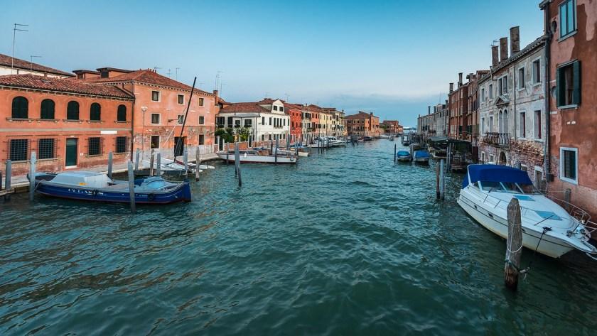 Canal on Giudecca