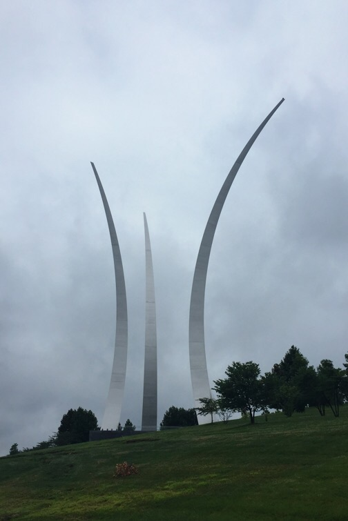 usaf memorial in arlington, virginia
