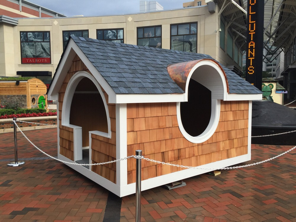 Playhouses in Friendship Heights to be auctioned for charity by rebuilding hope