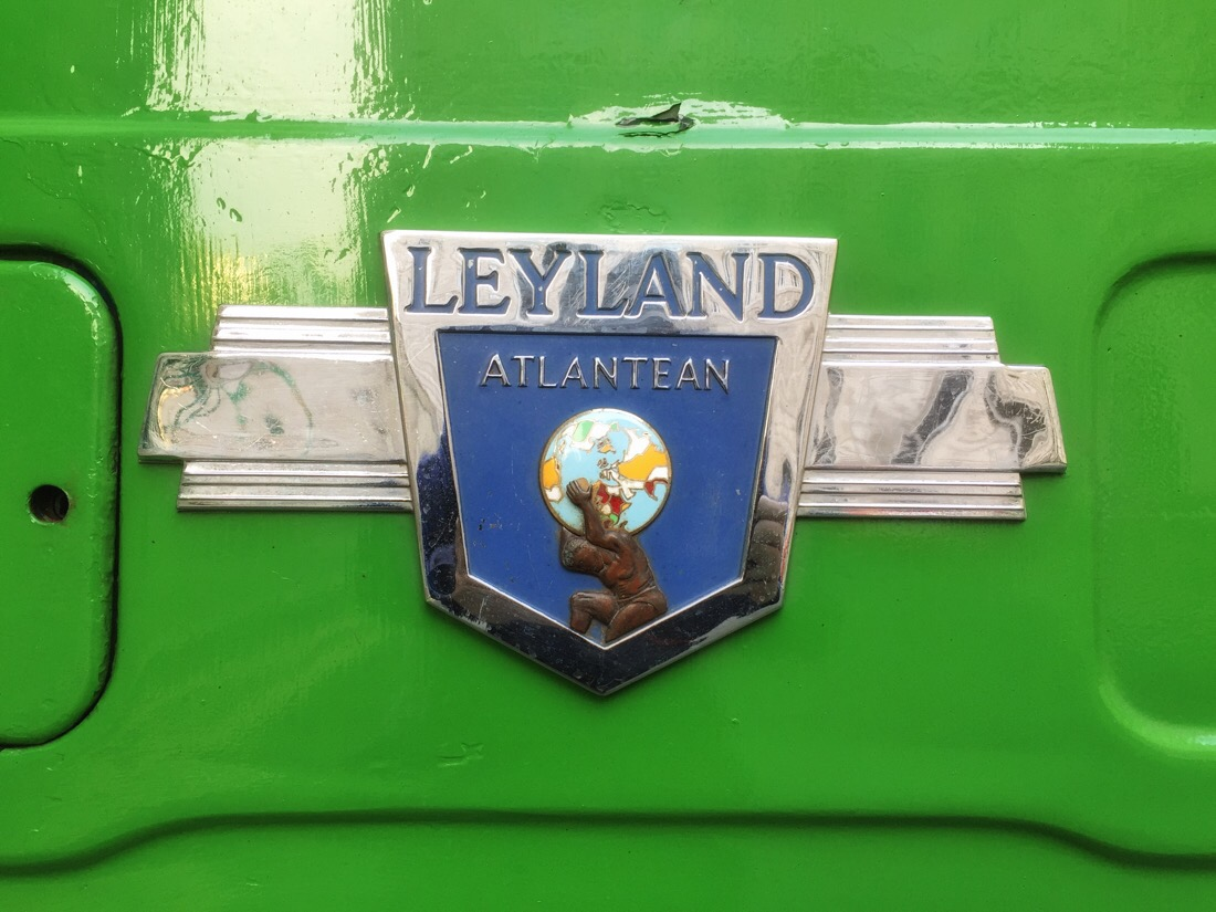 Leyland atlantean of Liverpool city corporation.