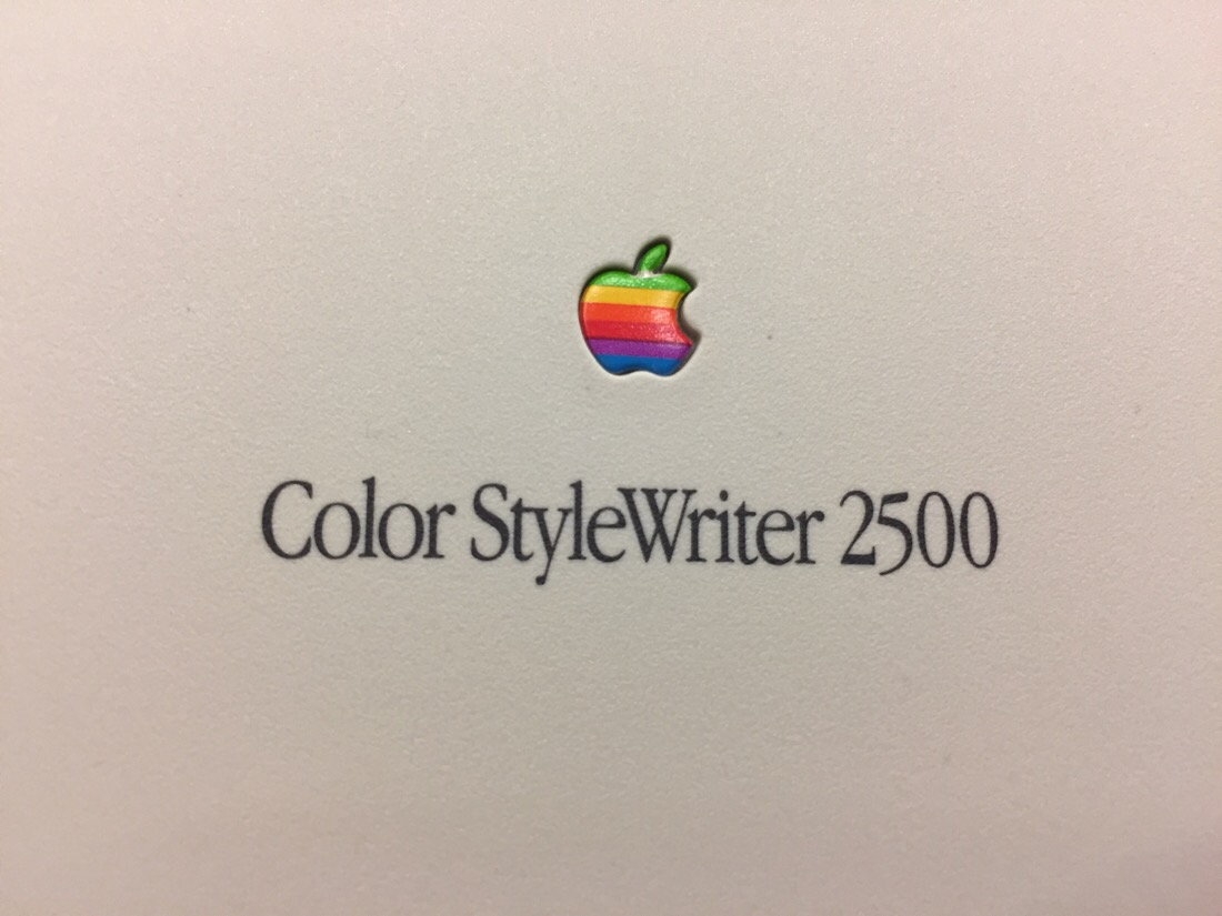 Macintosh performa 6360 and color StyleWriter 2500