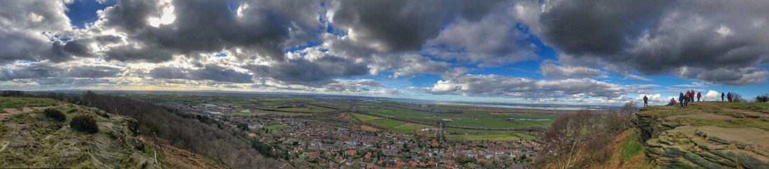 Helsby Hill in Cheshire