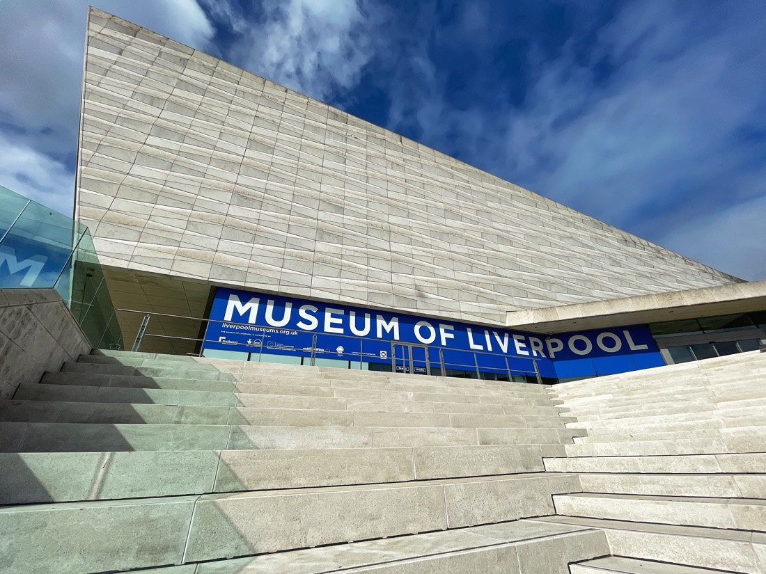 The Museum of Liverpool located at the Pier Head in Liverpool, England