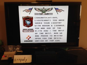 #19 - Top Gun (High Score Screen)