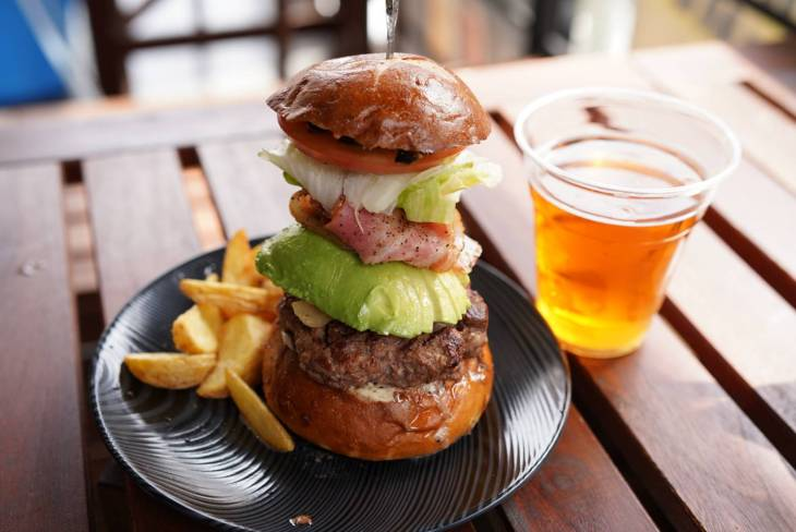 TOKYO ALEWORKS_ハンバーガー
