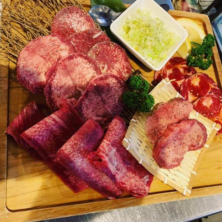 牛たん よし田の料理