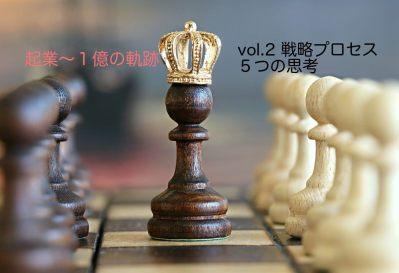 【Vol.2】陥るワナ!戦略プロセスを作る5つの思考|【起業するには,起業失敗,学ぶ】