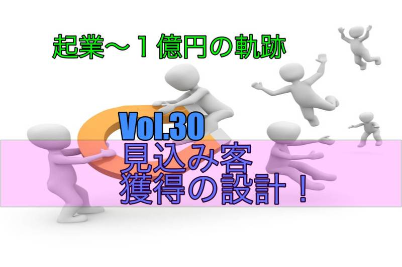 【Vol.30】リードジェネレーションの設計!|【起業するには,起業失敗,学ぶ】