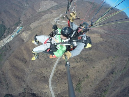 Paragliding - off my bucket list