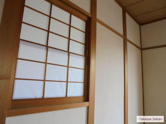 和室壁の珪藻土塗りアフター