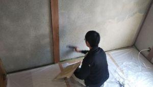 壁に塗るはくり剤