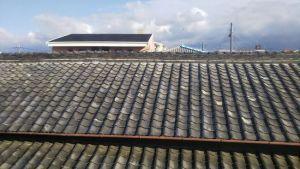 屋根漆喰の塗り替え