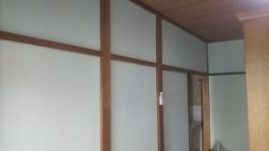 和室壁のアフター