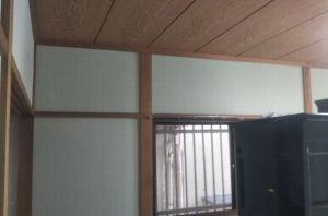 和室の塗り壁施工