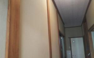 廊下塗り壁アフター