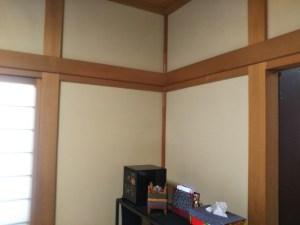 和室壁リフォーム