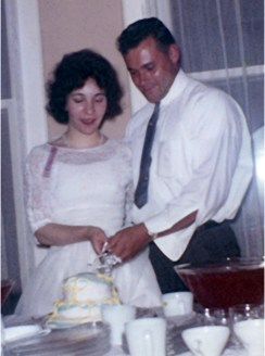 my birth parents at their non-marriage ceremony