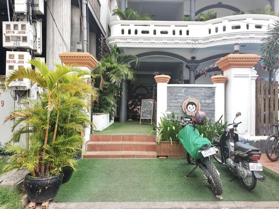 Mad Monkey hostel, Phnom Penh, Cambodia