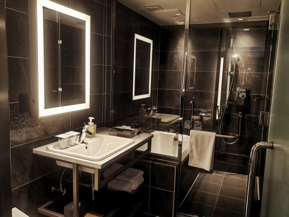hotel the flag bathroom, Osaka, Japan