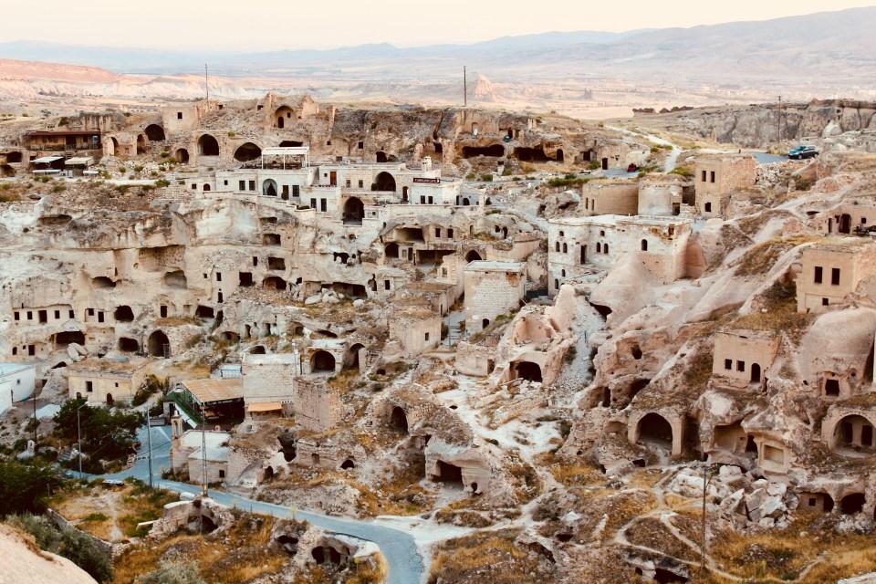 Underground cities in Cappadocia