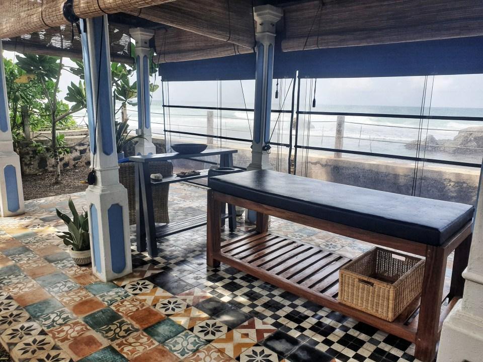 Wellness spa, The Owl & pussycat hotel, Unawatuna, Sri Lanka