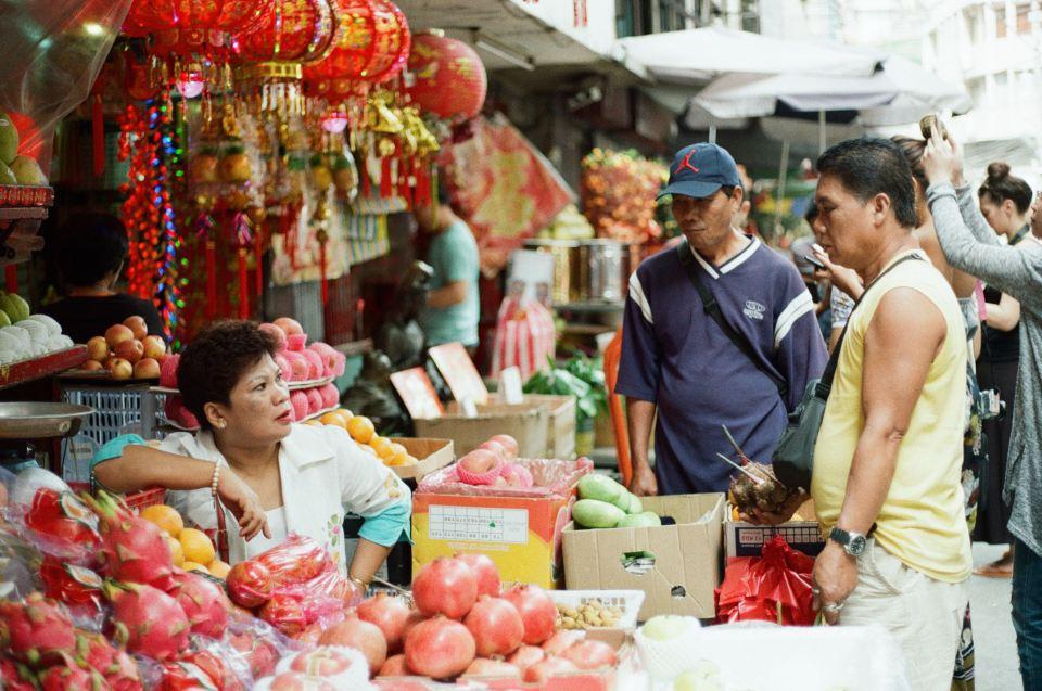 binh tay market, saigon, vietnam