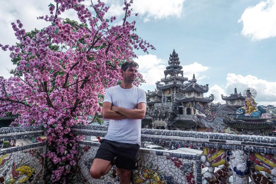Linh Phouc Pagoda, Dalat, Vietnam