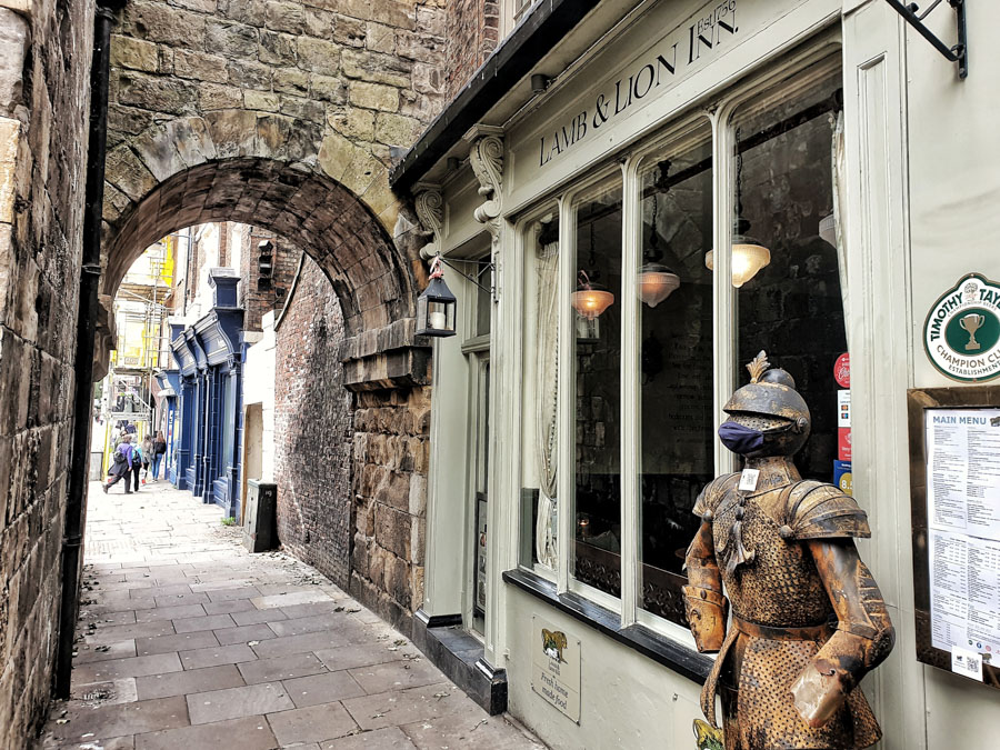 The Lamb and Lion Inn, York, Yorkshire, England, UK