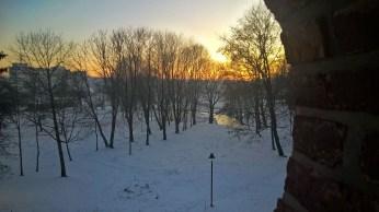 Plungės Library - Winter