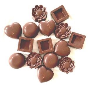 raw chocolates