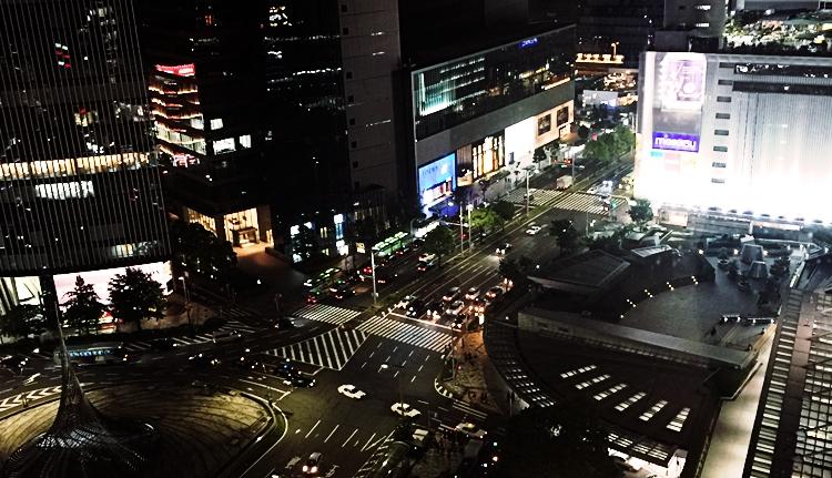 名古屋駅 夜景