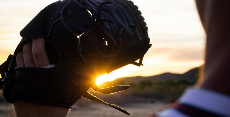 野球のグローブ