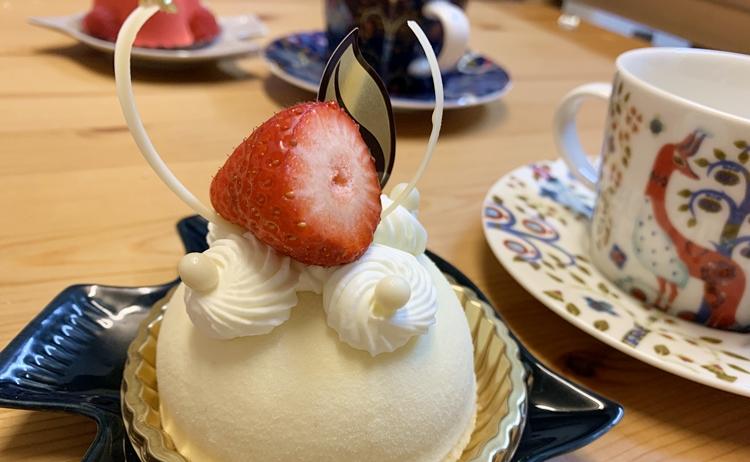 シェ・シバタのケーキ