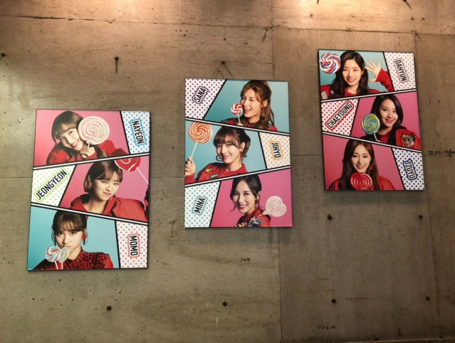 TWICE Candy Pop CAFE画像公開!店内が丸見え!