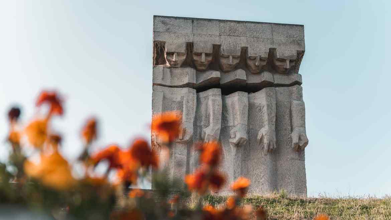 Pomnik Ofiar Faszyzmu w obozie Płaszów