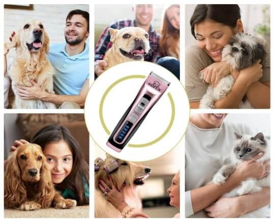 best dog clippers for thick hair