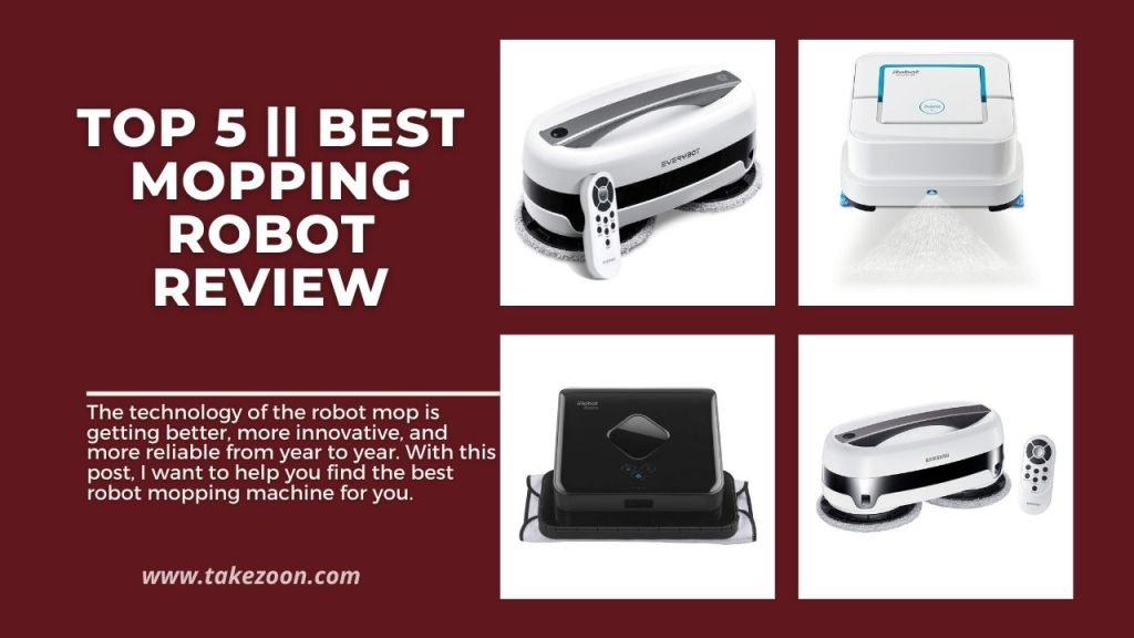 Best mopping robot review