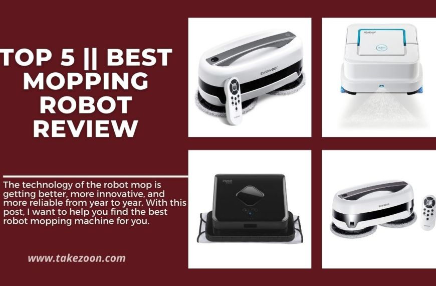 Top 5 || Best Mopping Robot Review | Buyers Guide