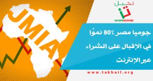 جوميا مصر 80% نموًّا في الإقبال على الشراء عبر الإنترنت