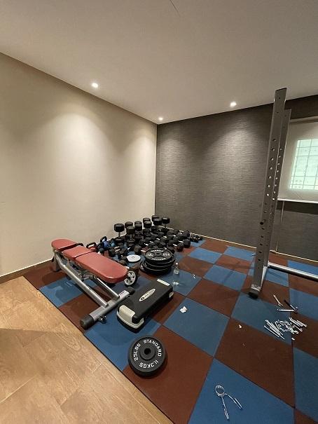 تجربة شراء ناجحة من علي بابا Alibaba نادي منزلي متكامل Home Gym10