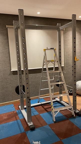 تجربة شراء ناجحة من علي بابا Alibaba نادي منزلي متكامل Home Gym9