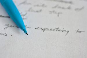 ブログの記事を書く