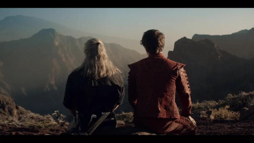 Wiedźmin Geralt i Jaskier