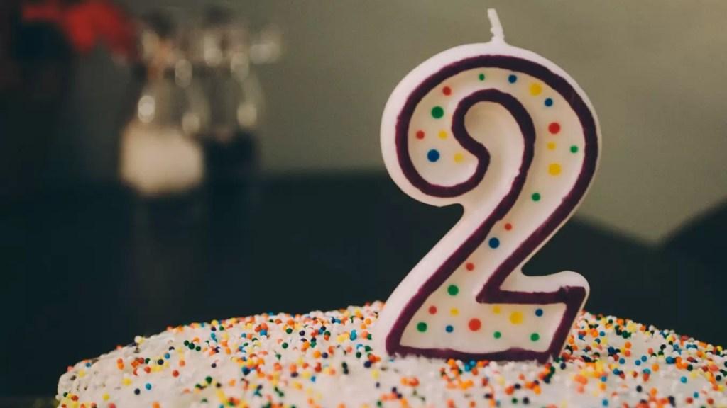 2 lata blogowania