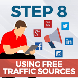using free traffic sources