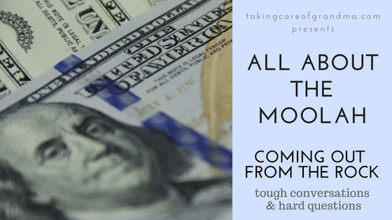 Coming out From the Rock: All About the Moolah