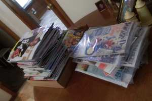 When Grandma has more magazines than the law should allow